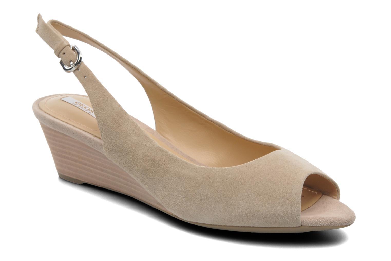 Sandales et nu-pieds Geox D FLORALIE C D42T4C Beige vue détail/paire