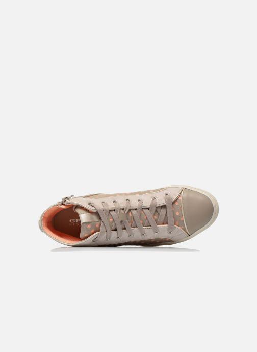 Sneakers Geox D NEW CLUB B D5258B Grigio immagine sinistra