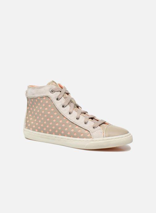 Sneakers Geox D NEW CLUB B D5258B Grigio vedi dettaglio/paio
