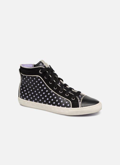 Sneaker Geox D NEW CLUB B D5258B schwarz detaillierte ansicht/modell