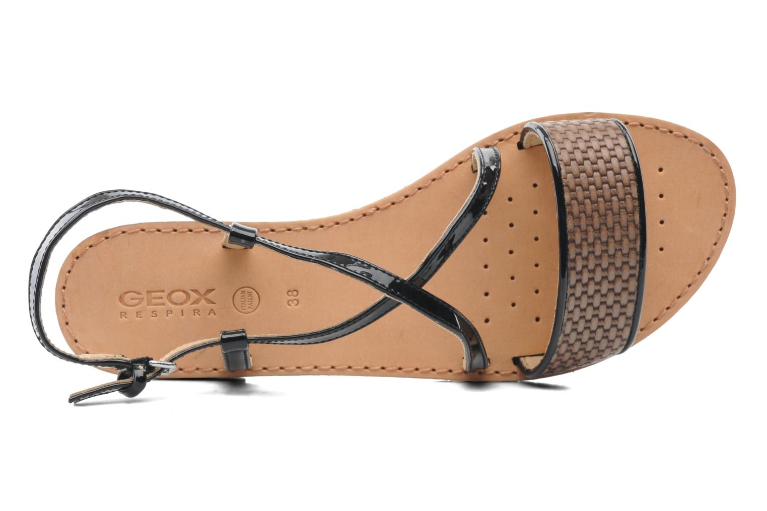 Sandals Geox D JOLANDA A D5275A Multicolor view from the left