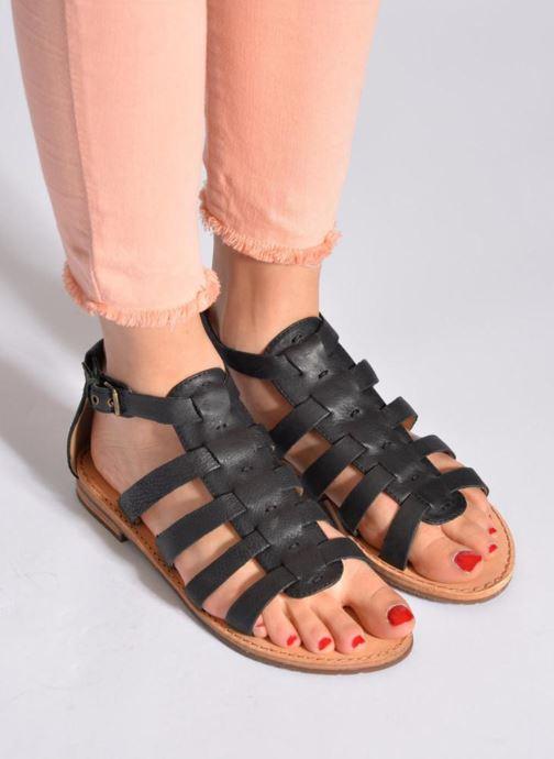 Sandali e scarpe aperte Geox D JOLANDA D D5275D Beige immagine dal basso