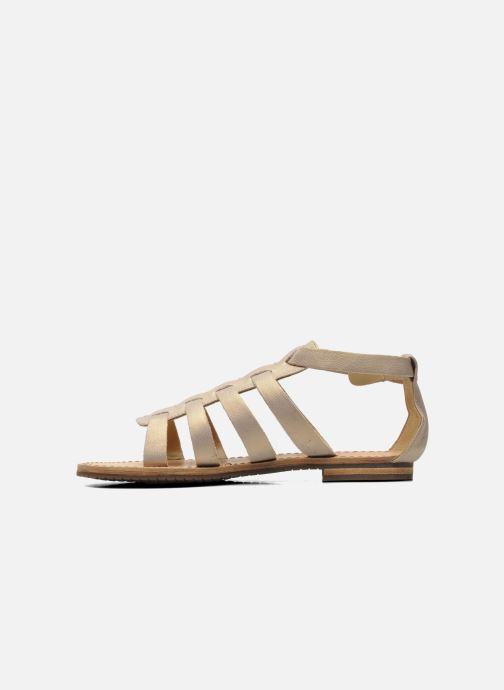 Sandali e scarpe aperte Geox D JOLANDA D D5275D Beige immagine frontale