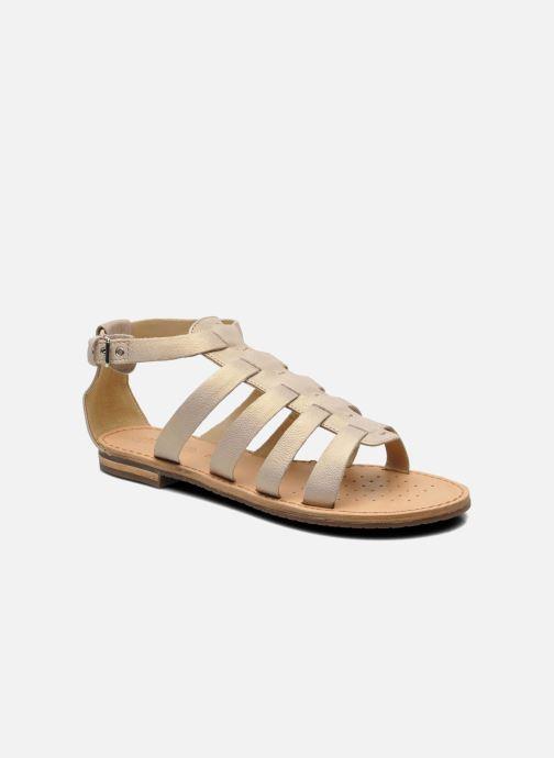 Geox D JOLANDA D D5275D (Beige) - Sandales et nu-pieds chez