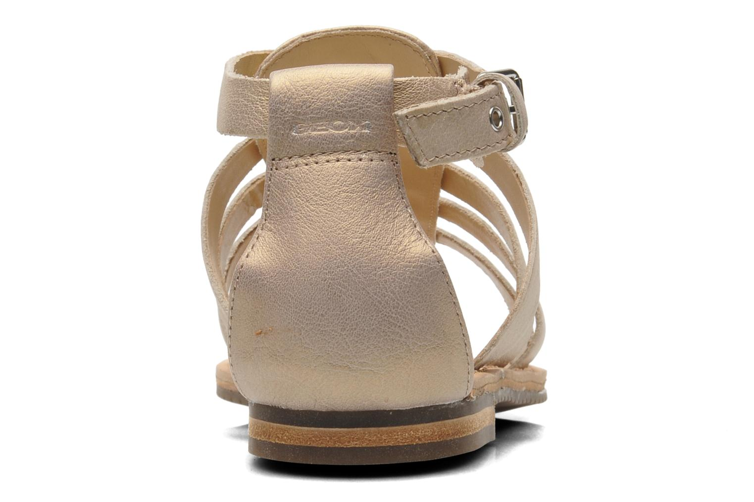 Sandals Geox D JOLANDA D D5275D Beige view from the right