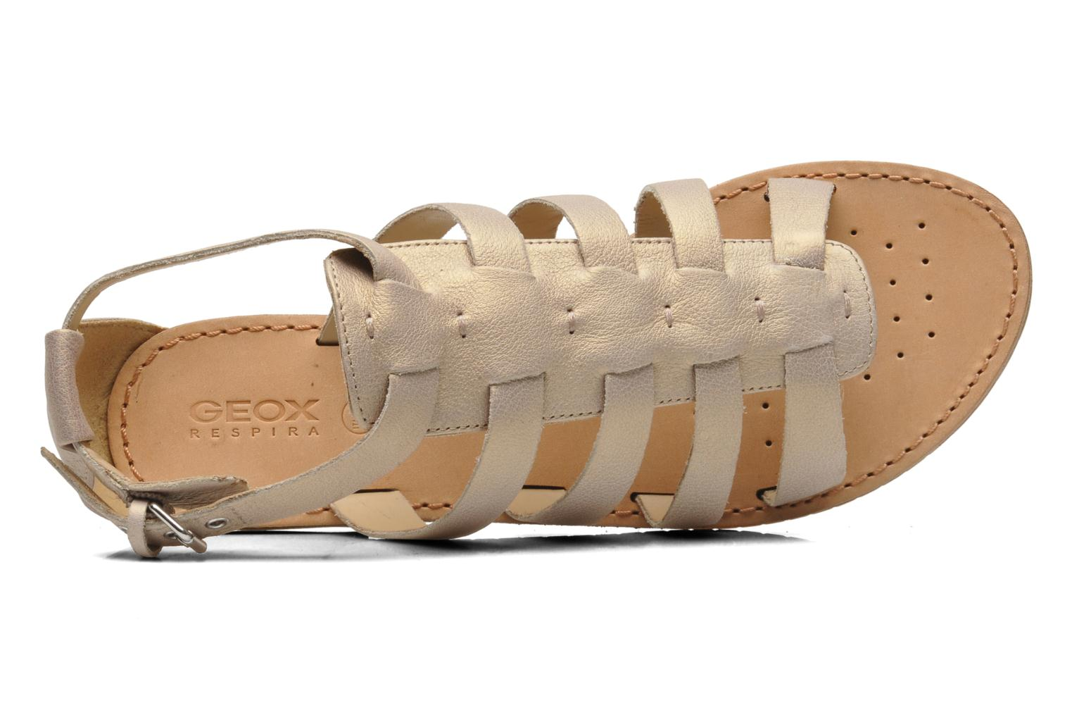 Sandals Geox D JOLANDA D D5275D Beige view from the left