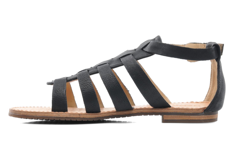 Sandals Geox D JOLANDA D D5275D Black front view