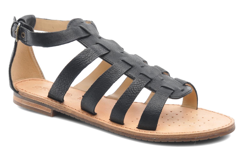 Sandals Geox D JOLANDA D D5275D Black detailed view/ Pair view