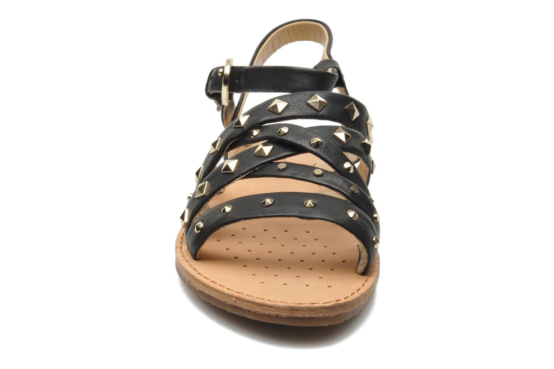 Sandals Geox D JOLANDA E D5275E Black model view