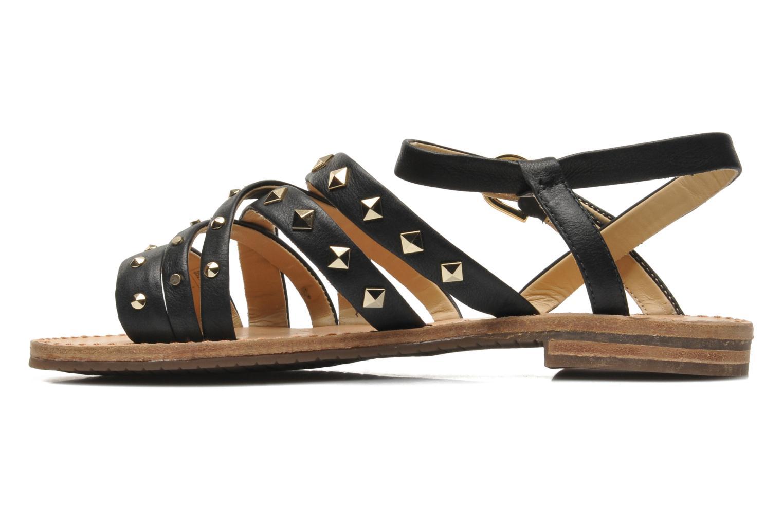 Sandals Geox D JOLANDA E D5275E Black front view