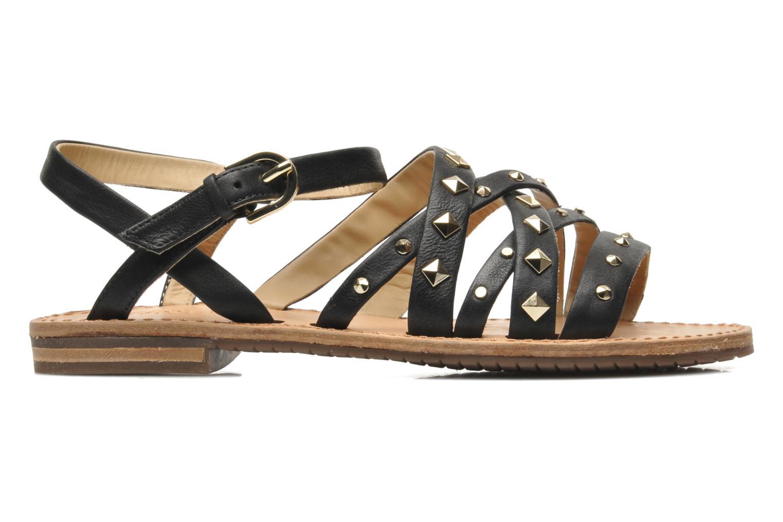 Sandals Geox D JOLANDA E D5275E Black back view