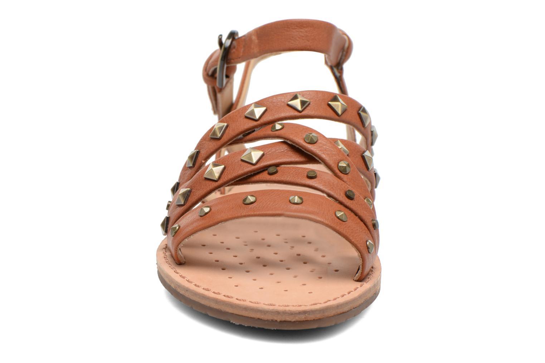 Sandals Geox D JOLANDA E D5275E Brown model view