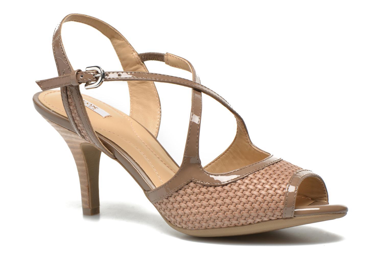 Sandales et nu-pieds Geox D DONYALE A D52B9A Marron vue détail/paire