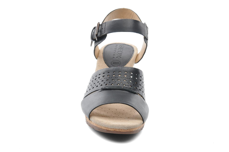 Sandals Geox D ALIAS A D52C3A Black model view