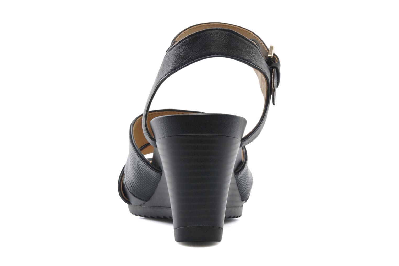 Sandales et nu-pieds Geox D NEW Rorie F D52P3F Noir vue droite