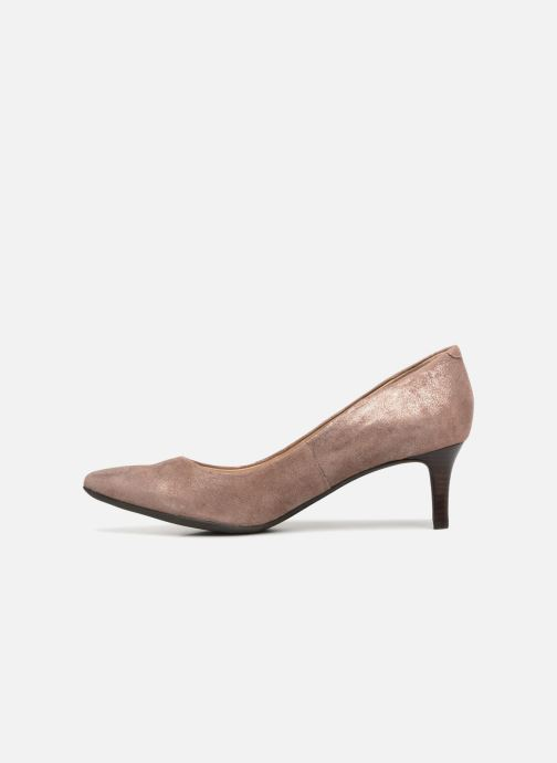 High heels Geox D ELINA C D52P8C Pink front view