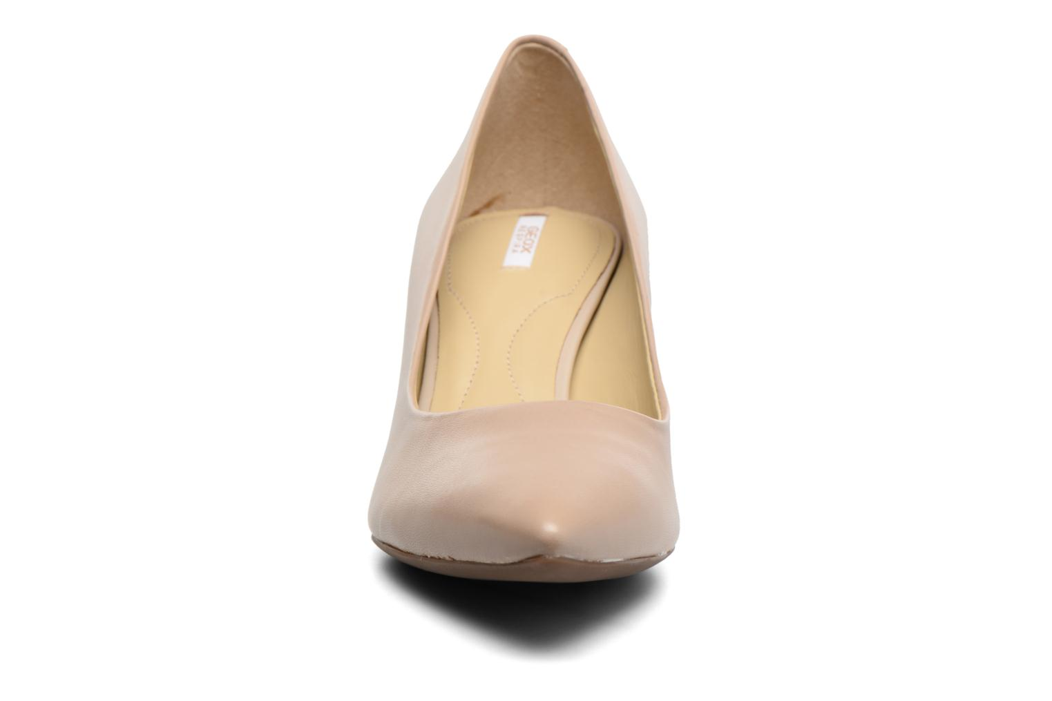High heels Geox D ELINA C D52P8C Beige model view