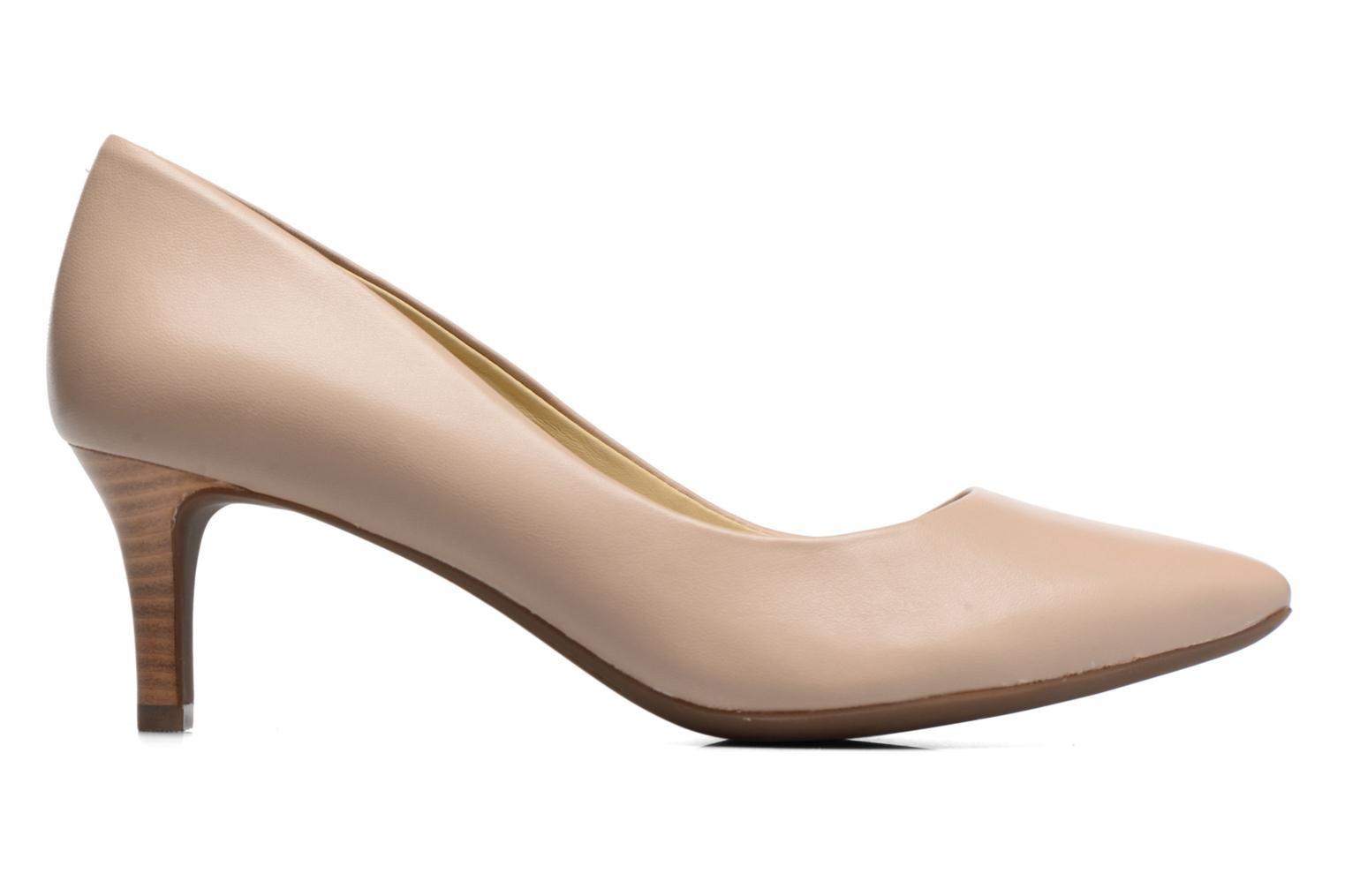 High heels Geox D ELINA C D52P8C Beige back view