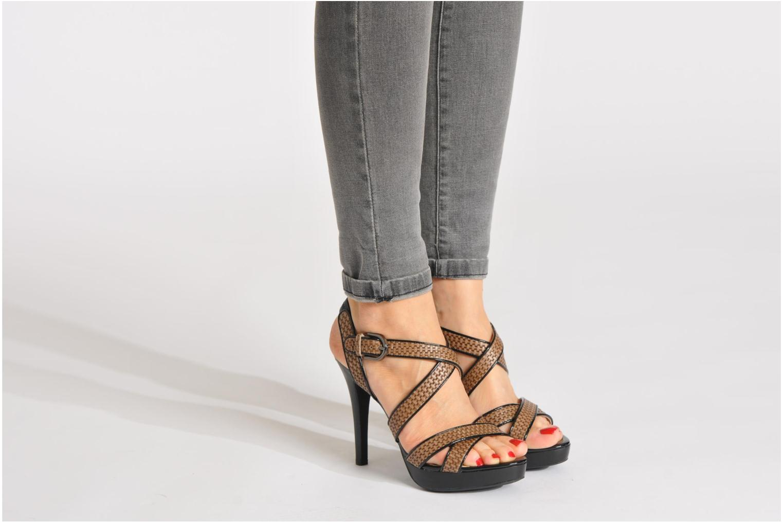 Sandales et nu-pieds Geox D IVANA SAND C D52Q2C Multicolore vue bas / vue portée sac