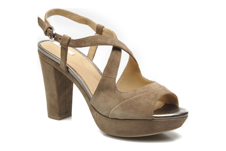 Sandales et nu-pieds Geox D HERITAGE B D52R1B Beige vue détail/paire