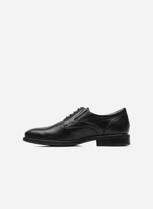 Lace-up shoes Geox U FEDERICO V U2257V Black front view