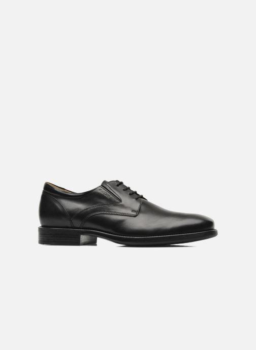 Chaussures à lacets Geox U FEDERICO V U2257V Noir vue derrière