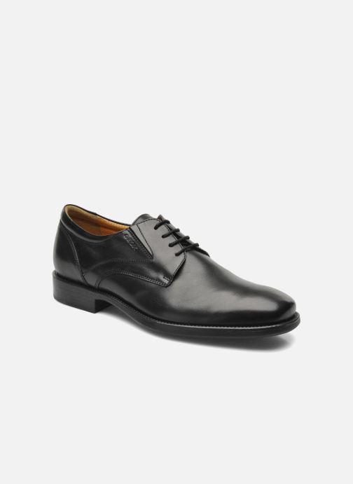 Zapatos con cordones Geox U FEDERICO V U2257V Negro vista de detalle / par
