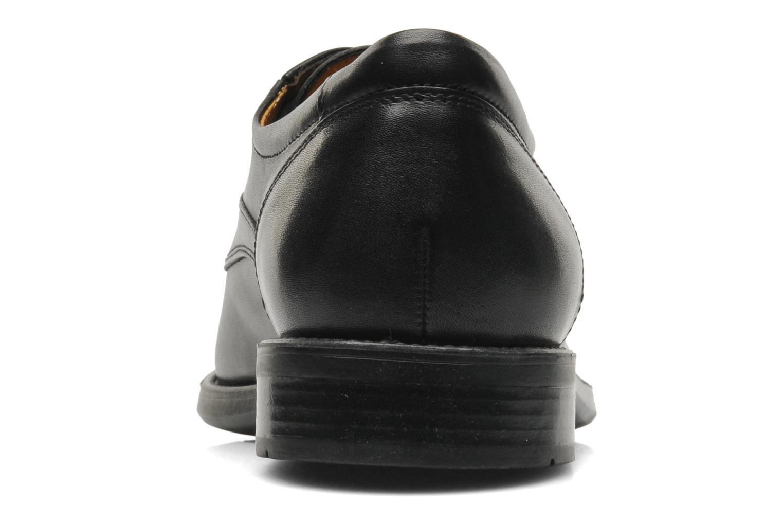 Chaussures à lacets Geox U FEDERICO V U2257V Noir vue droite