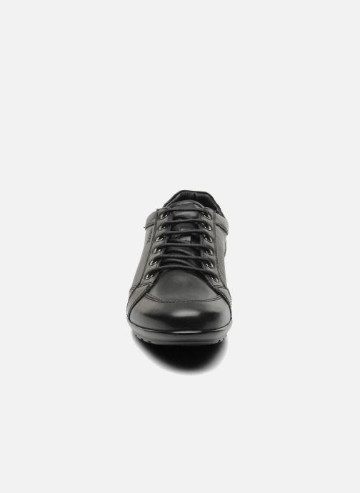 Baskets Geox U SYMBOL D U34A5D Noir vue portées chaussures