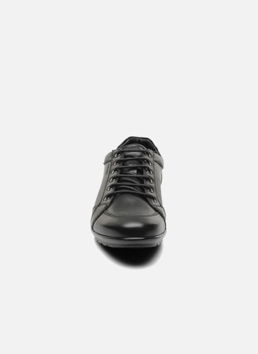 Sneaker Geox U SYMBOL D U34A5D schwarz schuhe getragen