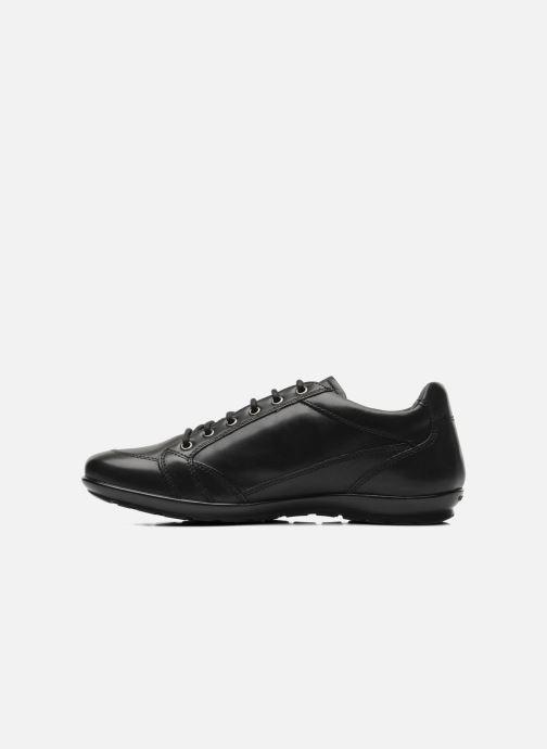 Sneaker Geox U SYMBOL D U34A5D schwarz ansicht von vorne