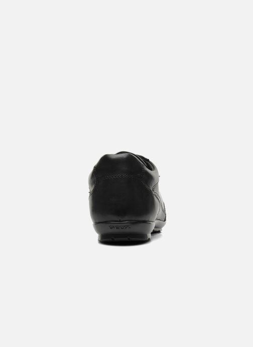 Sneaker Geox U SYMBOL D U34A5D schwarz ansicht von rechts