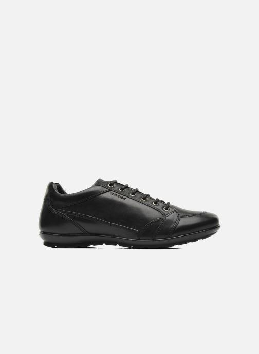 Sneaker Geox U SYMBOL D U34A5D schwarz ansicht von hinten