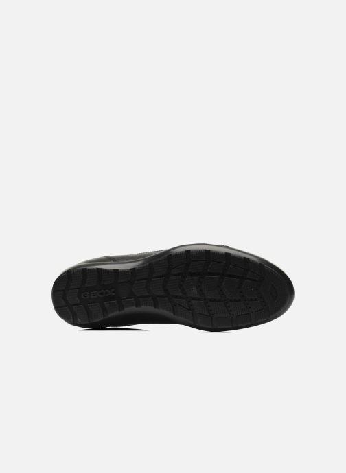 Sneaker Geox U SYMBOL D U34A5D schwarz ansicht von oben