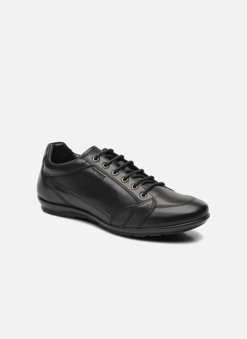Sneakers Geox U SYMBOL D U34A5D Zwart detail