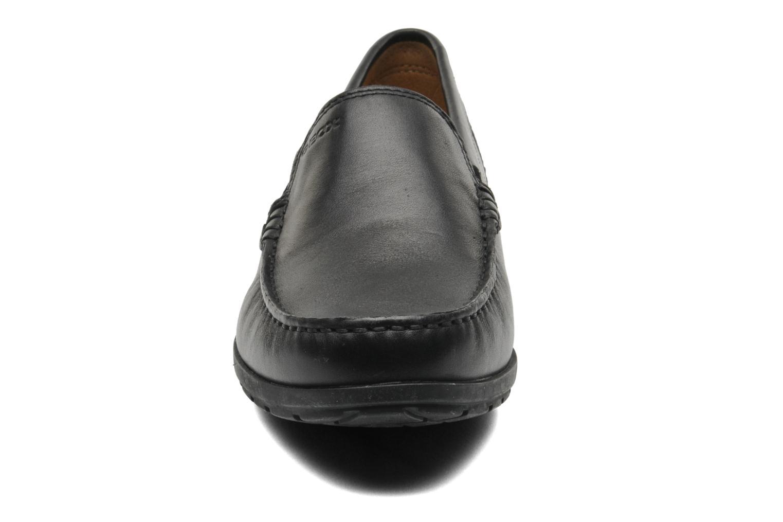 Loafers Geox U SIMON W C U34R1C Sort se skoene på