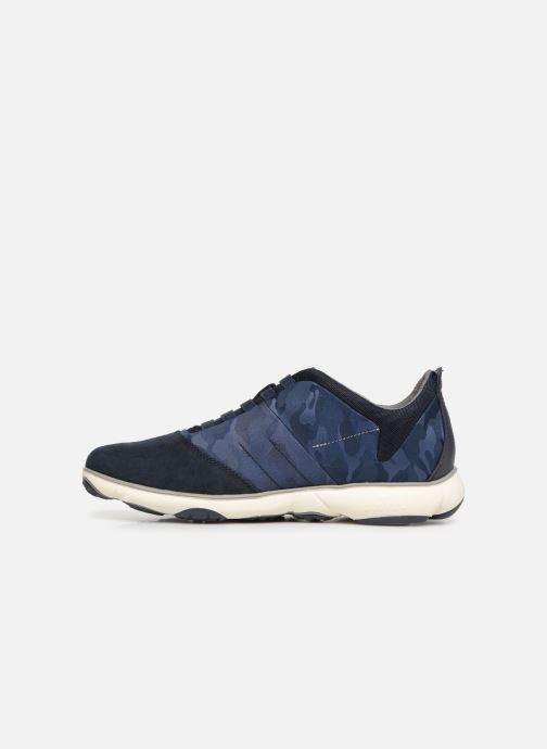 Sneakers Geox U NEBULA B U52D7B Blauw voorkant