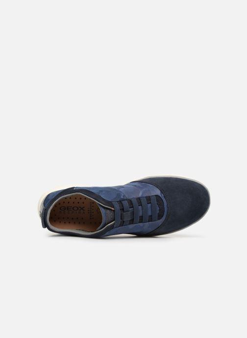 Sneakers Geox U NEBULA B U52D7B Blauw links