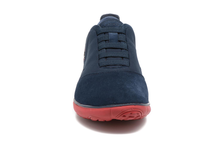 Sneakers Geox U NEBULA B U52D7B Azzurro modello indossato