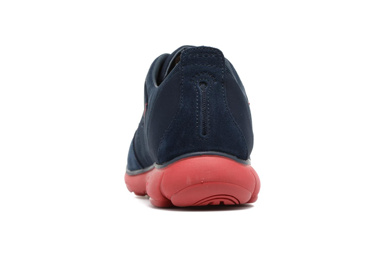 Sneakers Geox U NEBULA B U52D7B Azzurro immagine destra