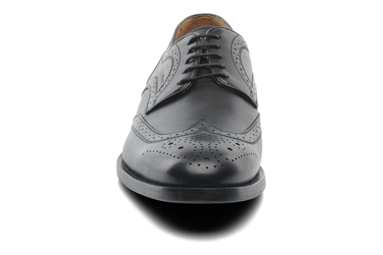 Chaussures à lacets Geox U HAMPSTEAD D U52E3D Noir vue portées chaussures