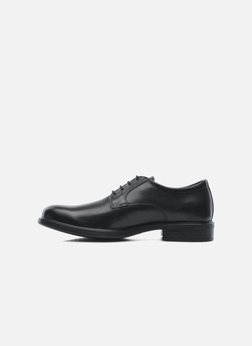 Lace-up shoes Geox U CARNABY D U52W1D Black front view