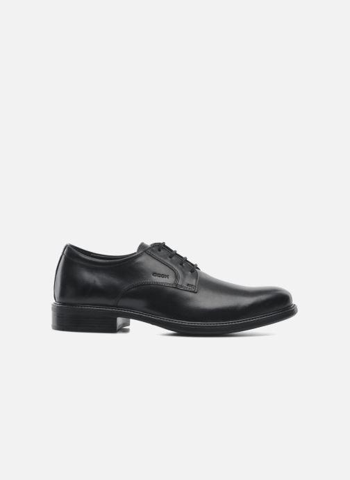 Chaussures à lacets Geox U CARNABY D U52W1D Noir vue derrière