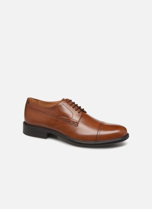 Lace-up shoes Geox U CARNABY D U52W1D Brown detailed view/ Pair view