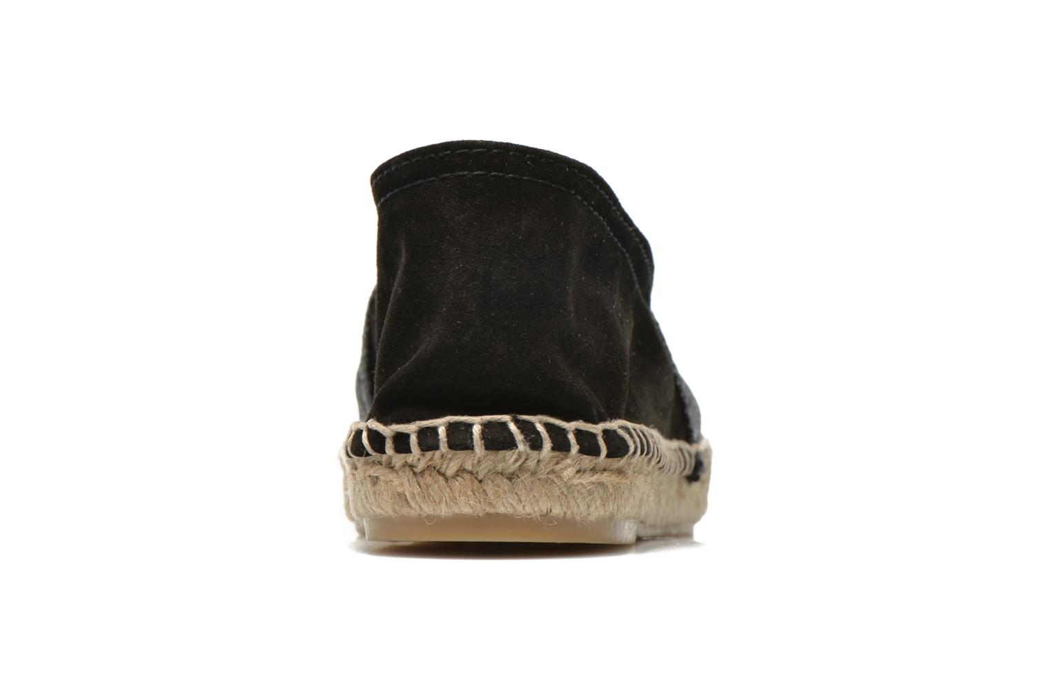 Espadrilles Maypol Selena Black view from the right