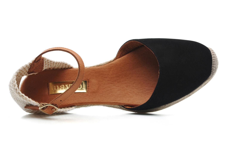 Sandali e scarpe aperte Maypol Macaret Nero immagine sinistra