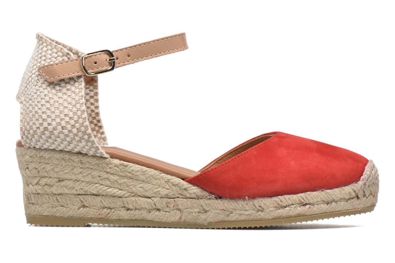 Sandaler Maypol Macaret Rød se bagfra