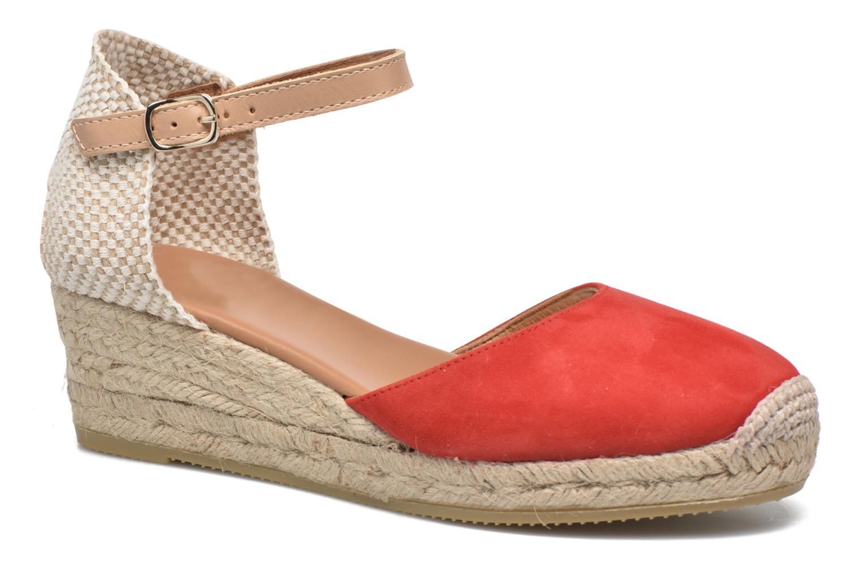 Sandaler Maypol Macaret Rød detaljeret billede af skoene