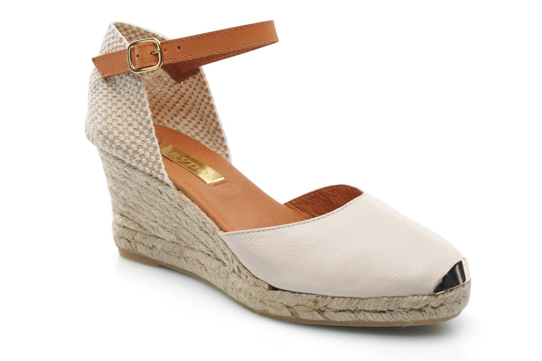 Sandaler Maypol Luz Beige detaljeret billede af skoene