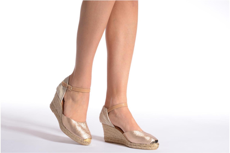 Sandales et nu-pieds Maypol Luz Marron vue bas / vue portée sac